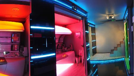 Salon in 3d for 360 tanning salon